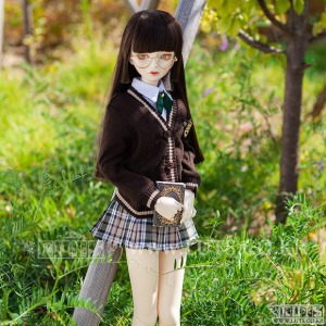 SDF NineSchool Girl Set (Brown)