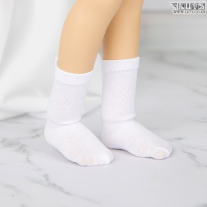 KDF Crew Socks (White)