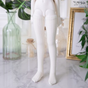 KDF Knit Tights (Ivory)