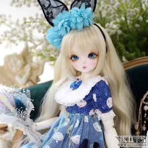 LUTS 19th Anniv. Kid Delf Happiness on 1000円 Blue ver. Limited